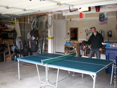 el garraje (private joke) table de ping pong, pounchingball...